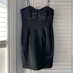 H&M Black Mini-Dress (Removable Straps)